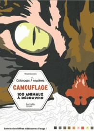 CAMOUFLAGE - 100 ANIMAUX A DECOUVRIR (COLORIAGES MYSTERES)