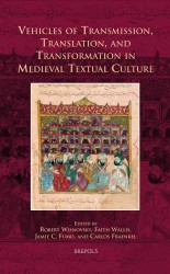 Vehicles of Transmission, Translation, and Transformation in Medieval Textual Culture (Cursor Mundi)