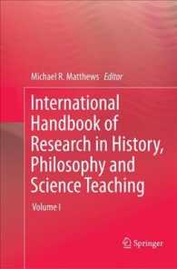 International Handbook of Research in History, Philosophy and Science Teaching (3-Volume Set) (Reprint)