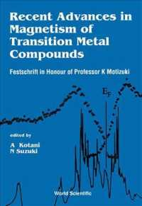Recent Advances in Magnetism of Transition Metal Compounds : A Festschrift in Honour of Professor K. Motizuki