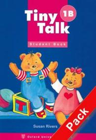Tiny Talk Level 1 Student Book-b with CD