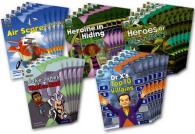 Project X Origins: Brown Book Band, Oxford Level 11: Heroes and Villains: Class Pack of 30 (Project X Origins)