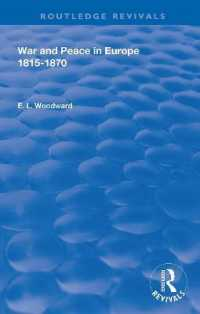 War and Peace in Europe 1815-1870 (Routledge Revivals)