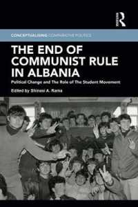 The End of Communist Rule in Albania : Political Change and the Role of the Student Movement (Conceptualising Comparative Politics)