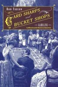 Card Sharps and Bucket Shops : Gambling in Nineteenth-Century America