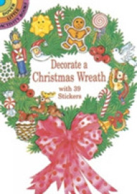 Decorate a Christmas Wreath with 39 Stickers (Dover Little Activity Books) -- Stickers