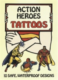 Action Heroes Tattoos (Dover Tattoos) -- Stickers