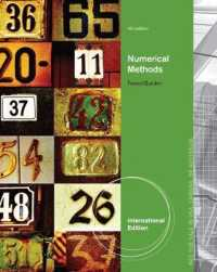 Numerical Methods, International Edition -- Paperback / softback (4 ed)