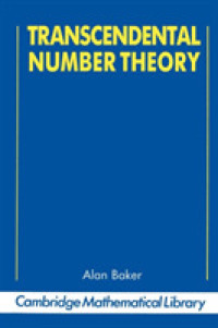 Transcendental Number Theory (Cambridge Manuals in Archaeology) (REP SUB)