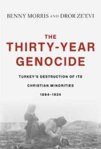 The Thirty-Year Genocide : Turkeys Destruction of Its Christian Minorities 1894-1924