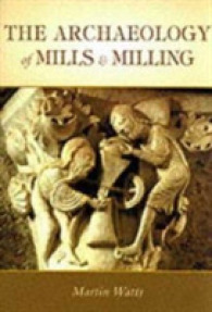 Archaeology of Mills and Milling -- Paperback / softback