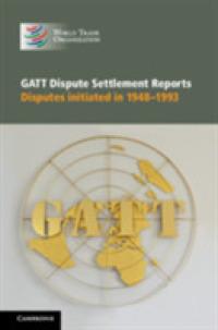 GATT Dispute Settlement Reports (6-Volume Set) : Disputes ...