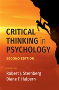 Critical Thinking in Psychology -- Hardback (2 Revised)
