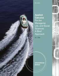 Applied Calculus for the Managerial, Life, and Social Sciences : A Brief Approach -- Paperback (Internatio)