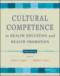 Cultural Competence in Health Education and Health Promotion (Public Health/aahe) (3TH)