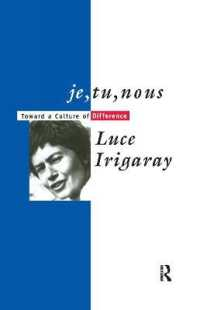 Je, Tu, Nous : Toward a Culture of Difference