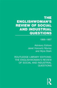 The Englishwoman's Review of Social and Industrial Questions : 1866-1867 (Routledge Library Editions: the Englishwoman's Review of Social and Industri