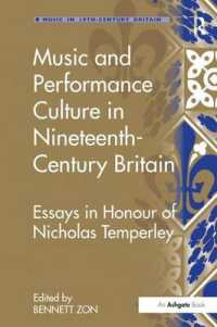 Music and Performance Culture in Nineteenth-century Britain : Essays in Honour of Nicholas Temperley (Music in Nineteenth-century Britain)