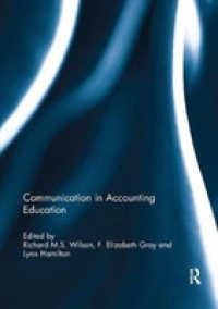 Communication in Accounting Education (Reprint)