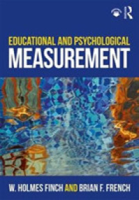 教育・心理測定入門<br>Educational and Psychological Measurement