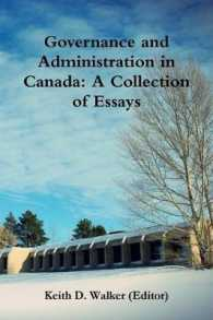 Governance and Administration in Canada: Collection of Essays