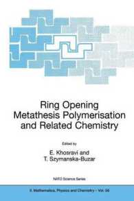 Ring Opening Metathesis Polymerisation and Related Chemistry : State of the Art and Visions for the New Century (NATO Science Series Ii: Mathematics,
