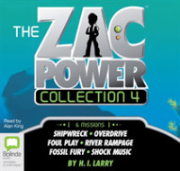 Zac Power Collection 4 -- CD-Audio (Unabridged)