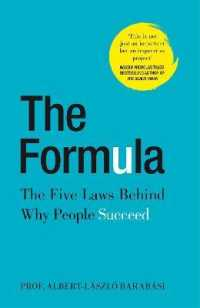 Formula : The Five Laws Behind Why People Succeed -- Hardback