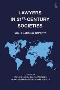 Lawyers in 21st-century Societies : National Reports 〈1〉