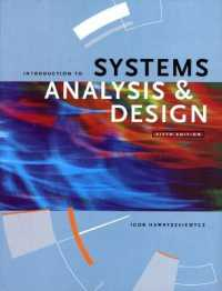 Introduction to Systems Analysis and Design -- Paperback (5 Rev ed)