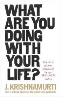 What Are You Doing with Your Life? -- Paperback