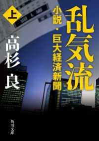 乱気流 上 小説・巨大経済新聞