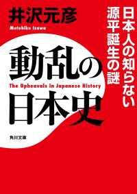 動乱の日本史 日本人の知らない源平誕生の謎