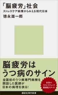「脳疲労」社会 ストレスケア病棟からみえる現代日本