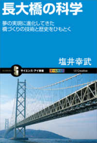 長大橋の科学 夢の実現に進化してきた橋づくりの技術と歴史をひもとく