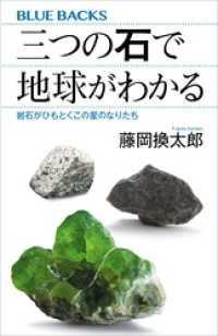 三つの石で地球がわかる 岩石がひもとくこの星のなりたち