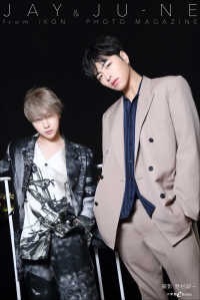 JAY&JU-NE from iKON PHOTO MAGAZINE