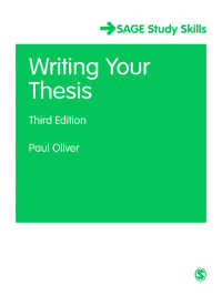 Writing Your Thesis(Third Edition)
