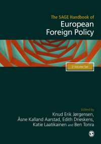 欧州の対外政策ハンドブック(全2巻)<br>The SAGE Handbook of European Foreign Policy(Third Edition)