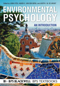 環境心理学入門<br>Environmental Psychology : An Introduction