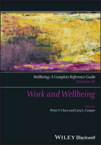 Wellbeing: A Complete Reference Guide, Work and Wellbeing〈Volume III〉