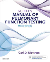 ラッペル肺機能検査マニュアル(第11版)<br>Ruppel's Manual of Pulmonary Function Testing - E-Book(11)