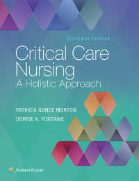 クリティカルケア看護(第11版)<br>Critical Care Nursing : A Holistic Approach(11)