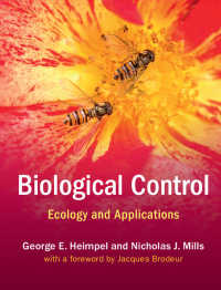 生物防除の生態学<br>Biological Control : Ecology and Applications