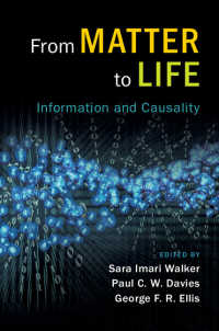 物質から生命へ:情報と因果性<br>From Matter to Life : Information and Causality