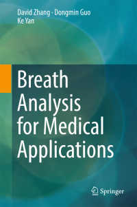 Breath Analysis for Medical Applications〈1st ed. 2017〉