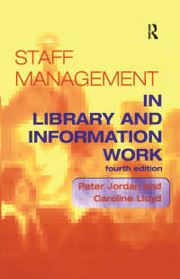 Staff Management in Library and Information Work(4 NED)