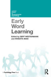 早期単語学習<br>Early Word Learning