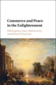 商業と平和の啓蒙思想史<br>Commerce and Peace in the Enlightenment