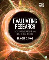 研究評価:論文読解のための方法論(第2版)<br>Evaluating Research : Methodology for People Who Need to Read Research(Second Edition)